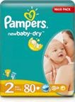 Pampers new Baby-Dry 2 (3-6 Kg) 108 ks