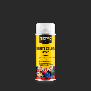 DISTYK Multi color spray 400ml RAL 9010 BÍLÁ MATNÁ