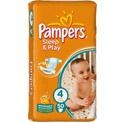Pampers sleep and play 3 (4-9 Kg) 58 ks